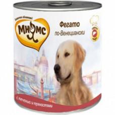 Мнямс Фегато по-Венециански (телячья печень с пряностями) консервы для собак 600 г
