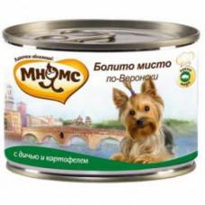 Мнямс Болито мисто по-Веронски (дичь с картофелем) консервы для собак 200 г