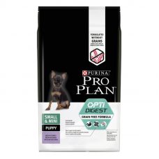 Pro Plan Grain Free 700гр беззерновой корм с индейкой для щенков мелких пород