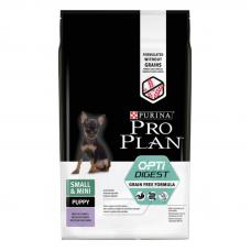 Pro Plan Grain Free 7 кг  беззерновой корм с индейкой для щенков мелких пород