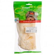 TitBit Нос телячий бабочка мягкая упаковка 45г , Титбит лакомства для собак