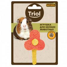 TrioL игрушка д/мелк.животных Цветочек 80ммТриол