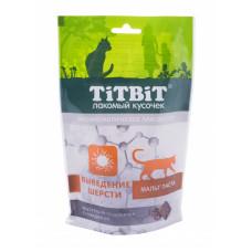 TitBit Подушечки с говядиной выведение шерсти д/кош,60 гр
