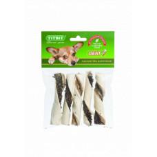 TitBit Палочки витые с начинкой - мягкая упаковка 45г , Титбит лакомства для собак