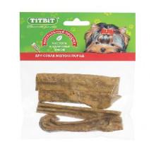 TitBit Вымя говяжье мягкая уп.45гр, Титбит лакомства для собак