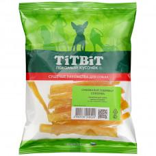 TitBit Сухожилия говяжьи Соломка 50г , Титбит лакомства для собак