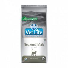 Farmina Vet Life Cat Neutered Male для взрослых кастрированных котов 2кг, Фармина для кошек