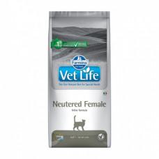 Farmina Vet Life Cat Neutered Female для взрослых стерилизованных кошек 2кг, Фармина для кошек