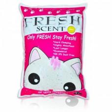 Fresh Scent Лимон 10 л Комкующийся наполнитель для кошачьего туалета , Фреш Сент