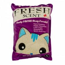 Fresh Scent Клубника 10 л Комкующийся наполнитель для кошачьего туалета Свежесть , Фреш Сент