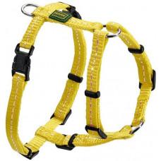 Hunter Tripoli(32-44см) шлейка желтая нейлон светоотражающая