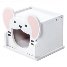 """Triol Домик""""Мышонок"""",для мелких животных,складной,120*100*105мм"""