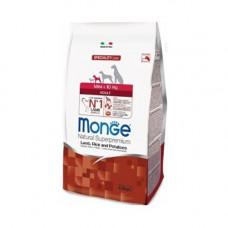 Monge Adult Mini Lamb, Rice and Potatoes 2,5кг для взрослых собак мелких пород с ягненком, рисом и картофелем