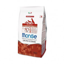 Monge Dog Puppy All Breeds Lamb 12 кг Ягненок с рисом и картофелем для щенков всех  пород , Монж для