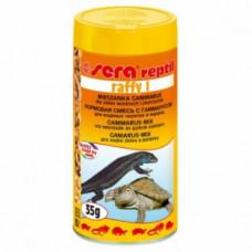 Sera Raffy I Кормовая смесь с гаммарусом для рептилий и амфибий 35 г