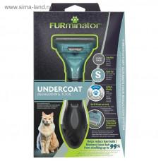 Furminator Фурминатор S для маленьких кошек с длинной шерстью