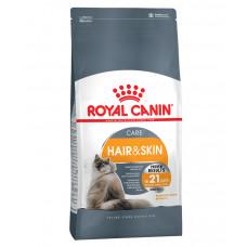 Royal Canin Hair & Skin Care 400г уход за кожей и шерстью для взрослых кошек, Роял Канин для кошек