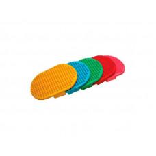 Щетка  овальная цветная Зооник 0722