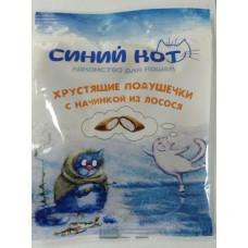TitBit Подушечки хрустящие Синий кот из лосося.д/кош.30гр, Титбит