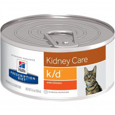 "Hill's k/d Chicken 156 г для кошек ""Лечение почек"""
