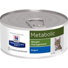 Hill's Metabolic 156г  для улучшения метаболизма (коррекции веса) у кошек