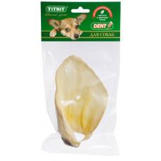 TitBit Ухо говяжье 1 29 г , Титбит лакомства для собак