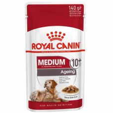 Royal Canin паучи Медиум Эйджинг соус 0,140 кг, Роял Канин для собак, консервы, паучи