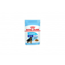 Royal Canin Макси Паппи соус 0,140 кг, Роял Канин для щенков (консервы,паучи)
