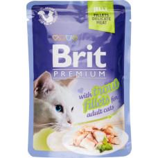 Brit premium пауч филе форели в желе 85 г , Брит