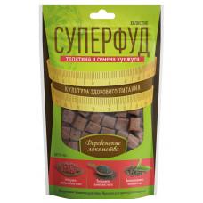 ДеревЛак. д/собак Суперфуд холистик телятина и семена кунжута,90 гр