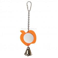 "Trixie Зеркало ""Яблочко"" игрушка для птиц 95*200*60мм"