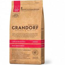 Grandorf Adult Medium Lamb & Brown Rice 1кг для собак средних пород с ягненком и бурым рисом