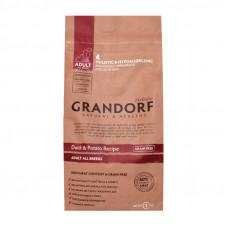 Grandorf Grain Free Adult All Breeds Duck&Potato 1кг для собак всех пород с уткой и бататом