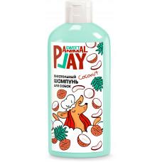 AnimalPlay шампунь для кошек и собак 300мл Питательный Ямайский кокос