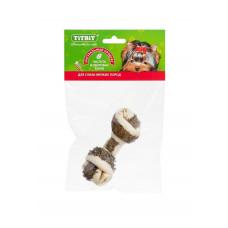 TitBit Кость узловая №3 с говяжьим рубцом 22 г , Титбит лакомства для собак