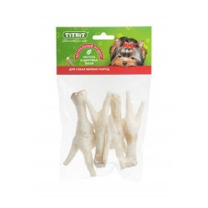 TitBit Лапки куриные XL, 4 шт. 45 г , Титбит лакомства для собак