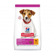 Hill's Science Plan Puppy Mini 1,5кг Healthy Development для щенков мелких пород до 10кгс курицей
