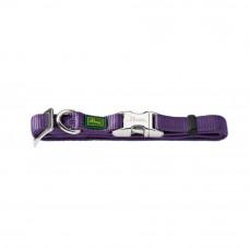Hunter ALU-Strong S (30-45см) фиолетовый ошейник