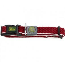 Hunter Hilo Vario Basic 30-43см ошейник сетчатый красный