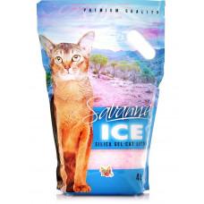 Savanna Ice Цветочные гранулы 4 л силикагелевый наполнитель , Саванна