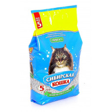 Сибирская Кошка Эффект 5л Впитывающий наполнитель