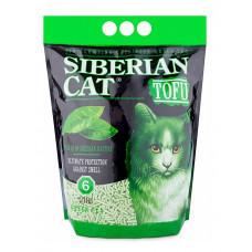 Сибирская Кошка Тофу 12л Комкующийся наполнитель зеленый чай