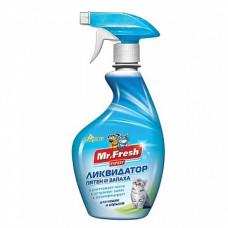 Mr.Fresh Expert ликвидатор пятен и запаха для кошек и хорьков 500мл , Мр.Фреш