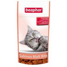Beaphar Malt Bits Salmon 75 шт. Лакомство для вывода шерсти с лососем,  , Беафар , Беафар для кошек