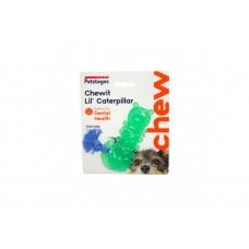 Petstages игрушка для собак мини Орка гусеница 12см