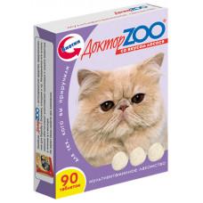 Доктор Зоо С лососем 90таб витамины для кошек