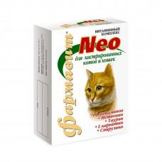 Фармавит NEO витамины для кастрированных кошек 60таб