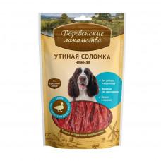 ДеревЛак. Утиная соломка нежная для собак (100% мясо) 90 г