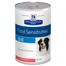Hill's d/d Salmon 370 г с лососем для собак с пищевой аллергией, , Хилс для собак (консервы)