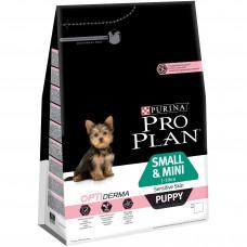 Pro Plan Mini Puppy 700 г с лоосем для чувствительной кожи, Проплан для щенков